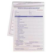 JJ KELLER 2048 Vehicle Inspection Form,2 Ply,Carbonless