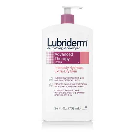 Lubriderm Advanced Therapy Lotion with Vitamin E and B5, 24 fl. (Best Body Lotion With Spf In India)