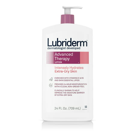 Lubriderm Advanced Therapy Lotion with Vitamin E and B5, 24 fl. oz