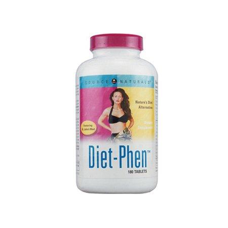 Source Naturals Diet Phen Tablets - 180 Ea - Walmart.com