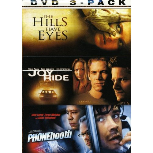 The Thrills & Chills 3-Pack: The Hills Have Eyes / Joy Ride / Phonebooth