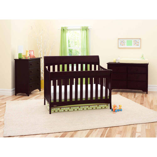 Graco Rory 5-in-1 Convertible Fixed-Side Crib, Choose Your Finish