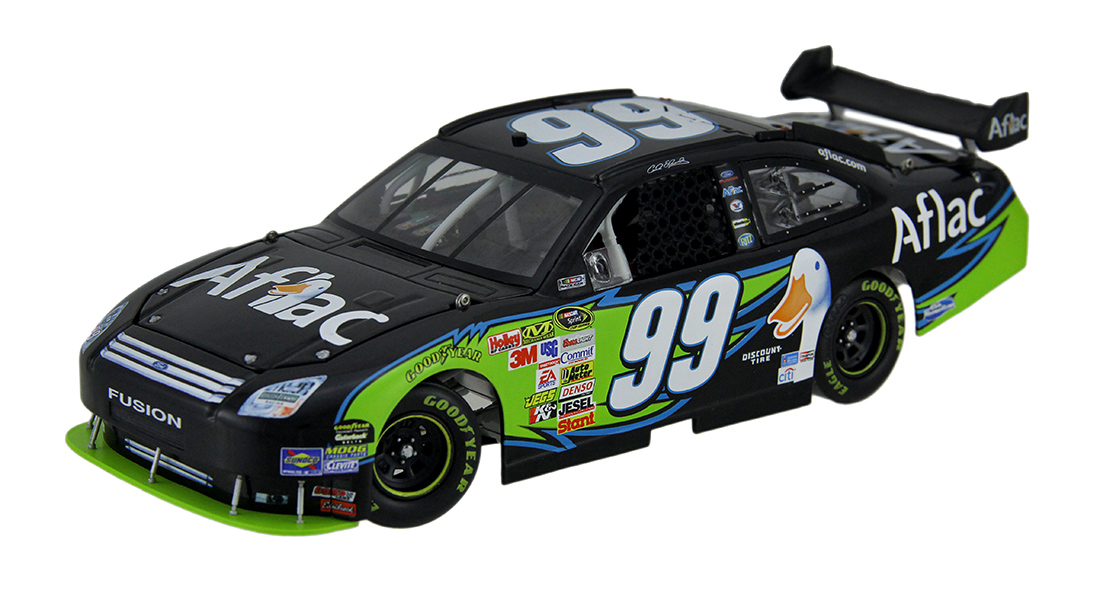 99 Carl Edwards 2009 Aflac Fusion Collectible Nascar Diecast Car 1:24 Scale by MARKETING RESULTS LTD