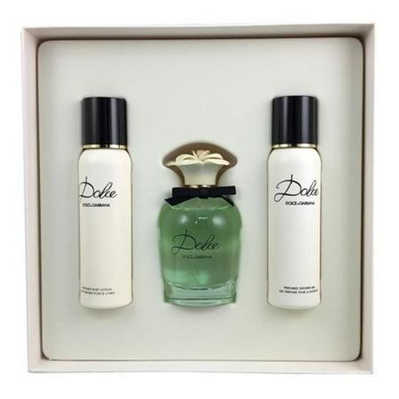 Dolce & Gabbana WDGDOLCE16EDPSPR 1.6 oz Womens Dolce Eau De Parfum Spray - 3 Piece ()