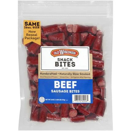 Wisconsin Chick - Old Wisconsin, Beef Bites, 26oz