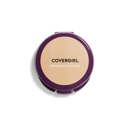 COVERGIRL Advanced Radiance Age-Defying Pressed Powder, 110 Creamy (Matte Oil Control Pressed Powder)