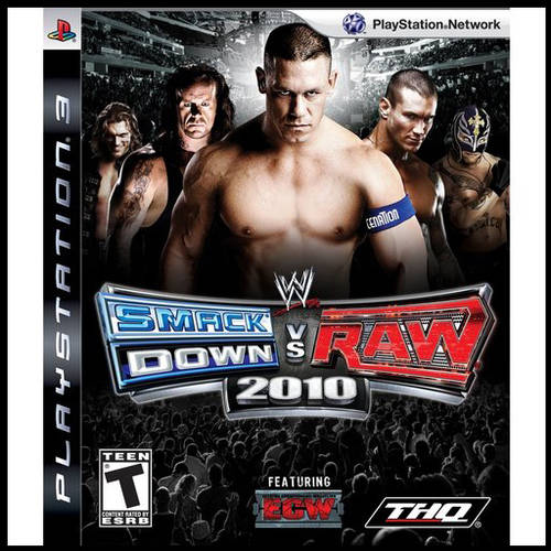 Wwe Smackdown Vs. Raw 10 (PS3) - Pre-Owned