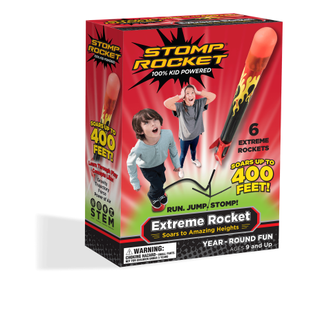 Stomp rocket extreme rocket, 6 - Snugpak Rocket