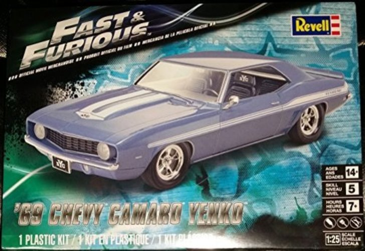 Revell Fast & Furious 69 Chevy Yenko Camaro Model Kit by Revell