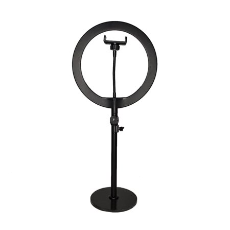 "10 ""LED Ring Light Fill Light Dimmable Lampe Studio Photo Téléphone Vidéo Live Photographie Selfie Light avec câble USB - image 4 of 7"