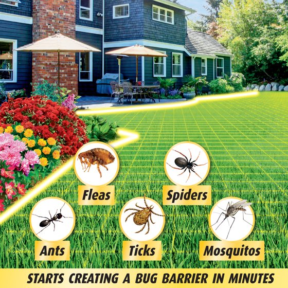 Ortho Home Defense Insect Killer for Lawns/Landscape, 32-oz ...