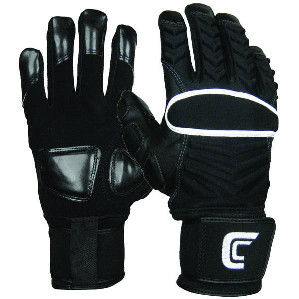 Cutters Gloves Cutters 017LP Reinforcer Adult Lineman Foo...