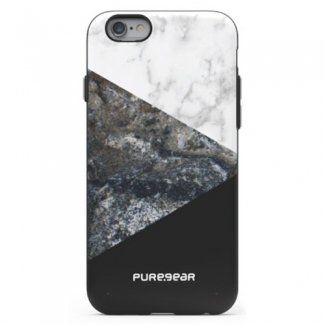 APPLE IPHONE 6/6S PUREGEAR MOTIF SERIES CASE - STONE AND COLOR BLACK - image 1 de 1