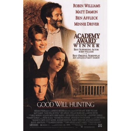 Good Will Hunting Movie Poster  11 X 17