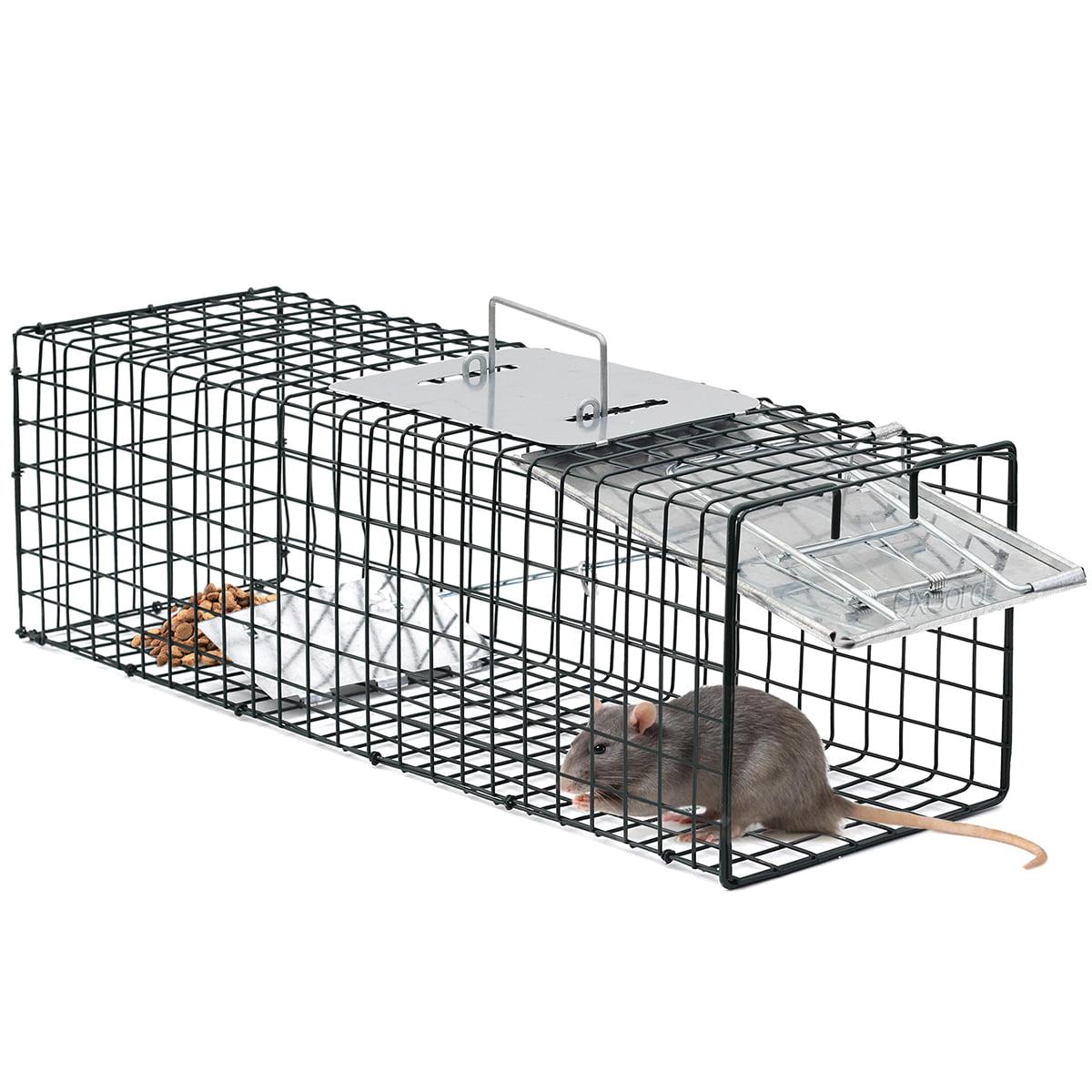 "OxGord Live Animal Trap 24"" X 7"" X 7"" GFA Catch and Release Humane"