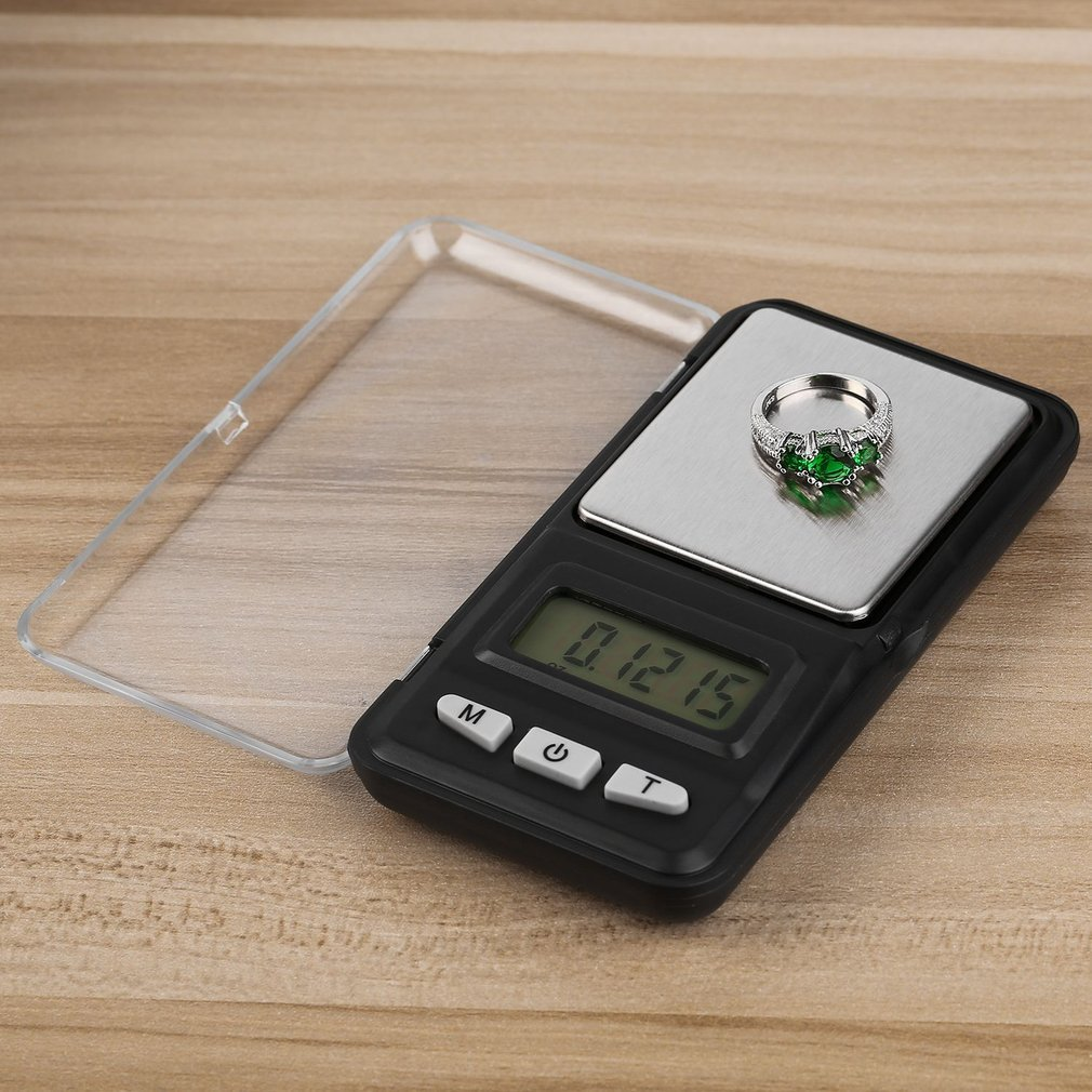 200g x 0.01g LCD Display Mini Jewelry Drug Portable Pocket Scale Practical Electronic Balance Weight Jewelry Scales