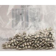 Schlage 34-308 Bottom Pin, For Use With Full-Size Cylinders, NO 8, Tumbler Keyed, Nickel Silver