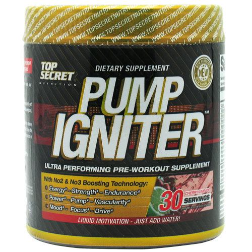 Top Secret Nutrition Pump Igniter Cherry Limeade - 30 Servings