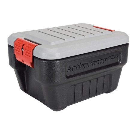 RUBBERMAID 8 Gallon Action Packer Lockable Storage Box