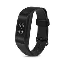 Lenovo HW01 Smart Fitness Tracker Wristband with Sleep & Heart Rate Monitor(Black)