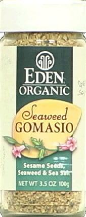 Eden Foods Seaweed Gomasio Sesame Seeds & Seaweed, 3.5 Oz by Eden