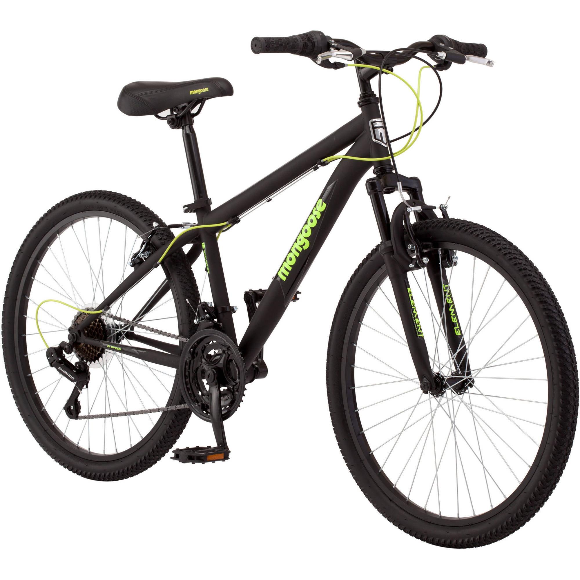 """24"""" Mongoose Excursion Boys' Mountain Bike"""