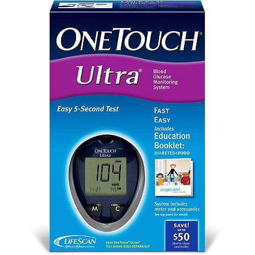 Lifescan Inc One Touch Ultra Meter Walmart Com