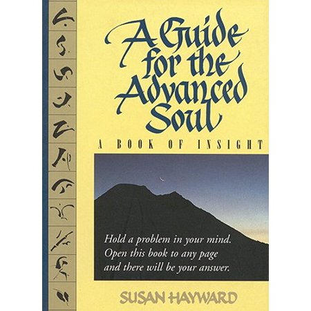 A Guide for the Advanced Soul : A Book of Insight Tag - Hold a Problem in Your