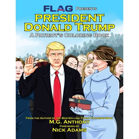 President Donald Trump : A Patriot's Coloring Book - Donald Duck Halloween Coloring Pages