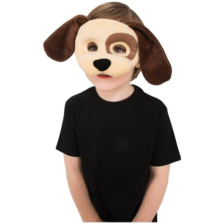 Plush Puppy Eye Mask Halloween Costume Accessory (Halloween Puppy Games)