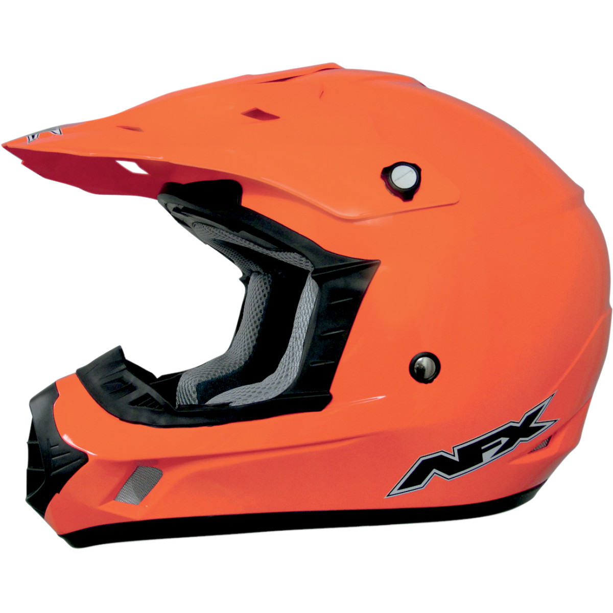 AFX FX-17Y Solid Youth MX Helmet Safety Orange
