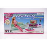 """My Fancy Life Leisure Living Room for 11.5"""" Fashion dolls and dollhouse Furniture play set"""