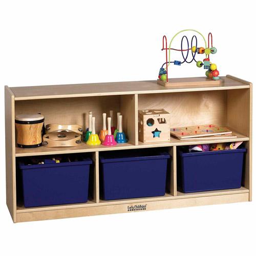 "24"" Birch Storage Cabinet - 5 Compartments"