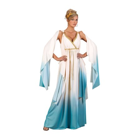Greek Goddess Adult Costume - Small/Medium (Womens Adult Halloween Costume)