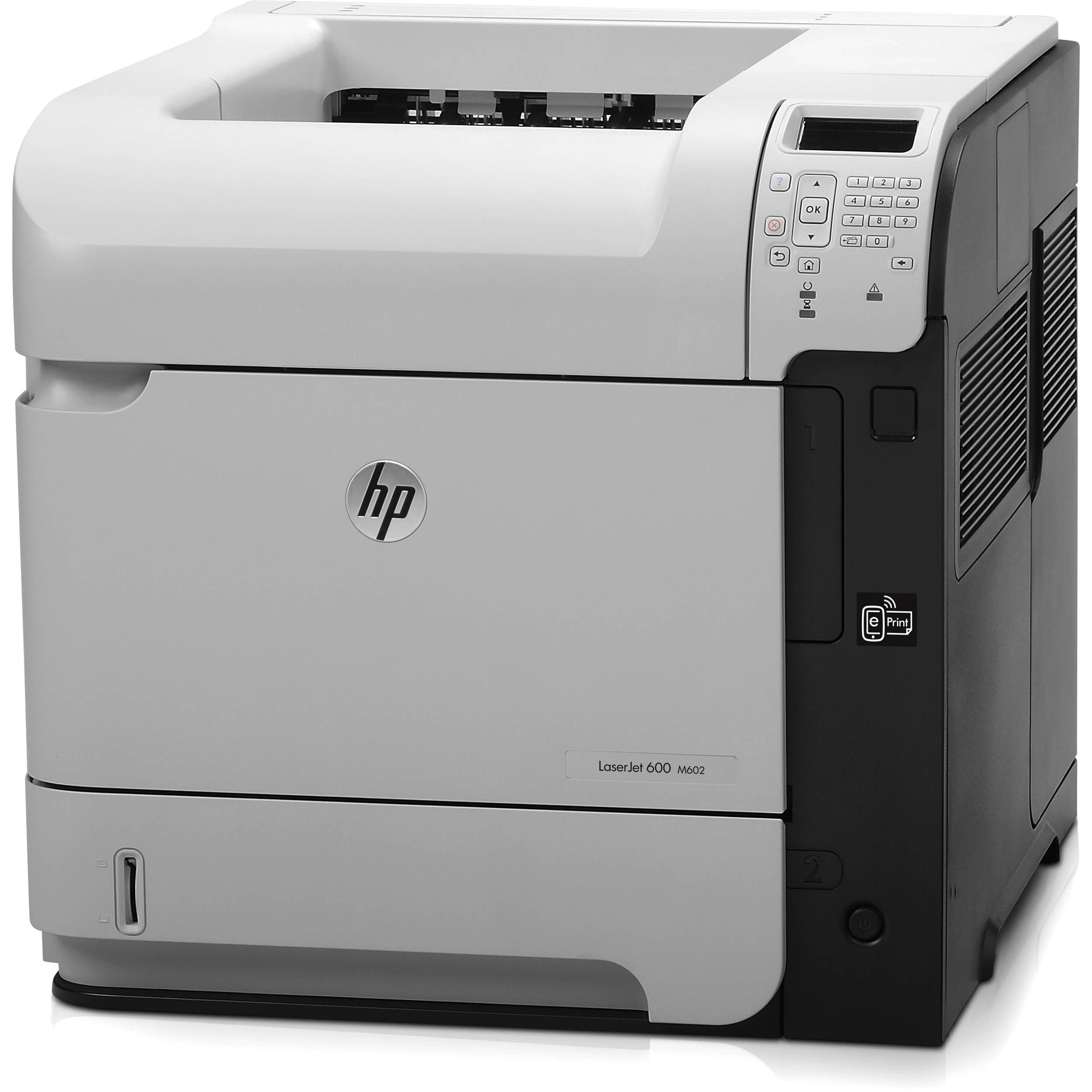 Refurbished HP 600 M602 LaserJet Enterprise Printer Network Workgroup CE991A