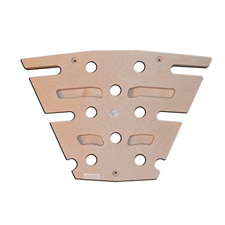 OFG Best Pegboard Climbing Board Hybrid Wall Mounted For Residential Commercial Heavy-Duty Institutional Use Fitness (Birch 16