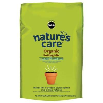 Miracle - Gro 8 Quart Natures Care Potting Mix, 2Pack