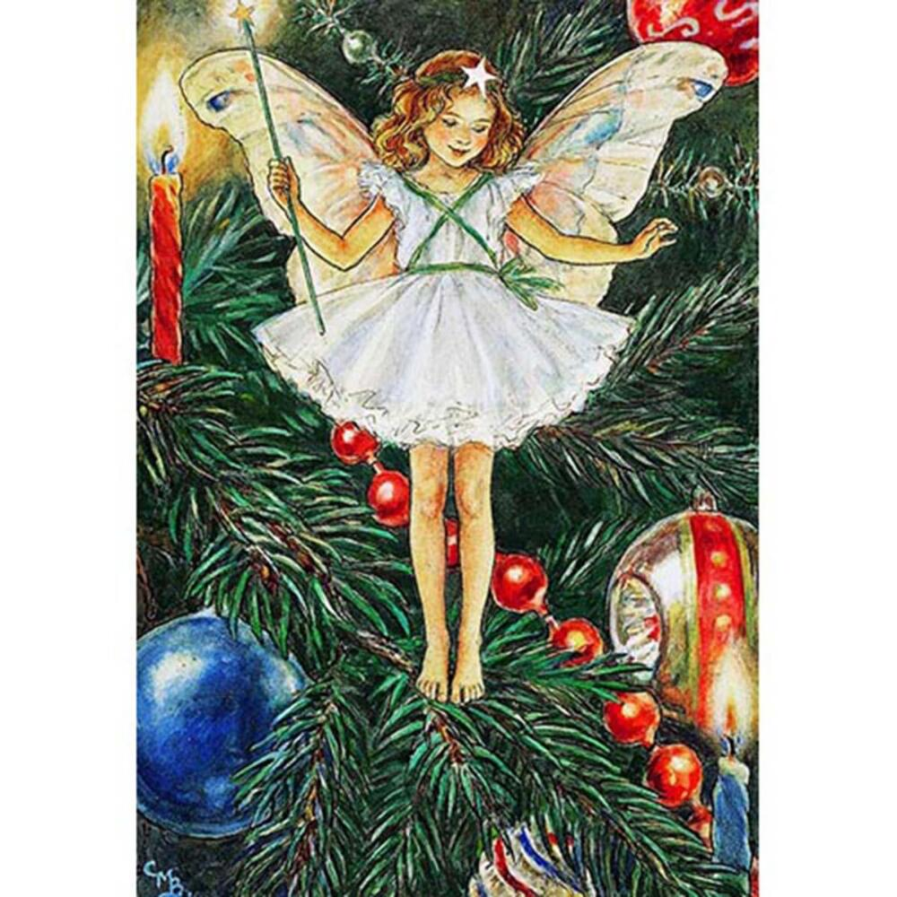 New York Puzzle Company Christmas Tree Fairy Jigsaw Puzzle