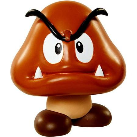 World of Nintendo Super Mario Goomba Mini Figure