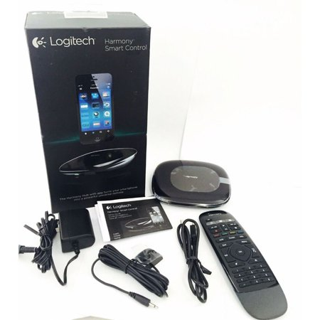 Logitech Harmony Smart Control Bluetooth Hub + Remote for iPhone, iPad,  Android 915-000194 (Refurbished)