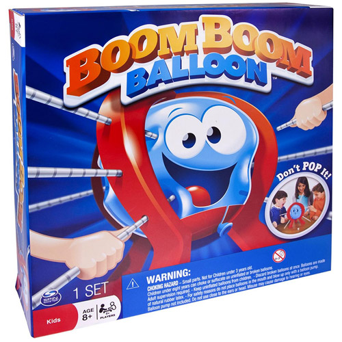 Spin Master Boom Boom Balloon Board Game