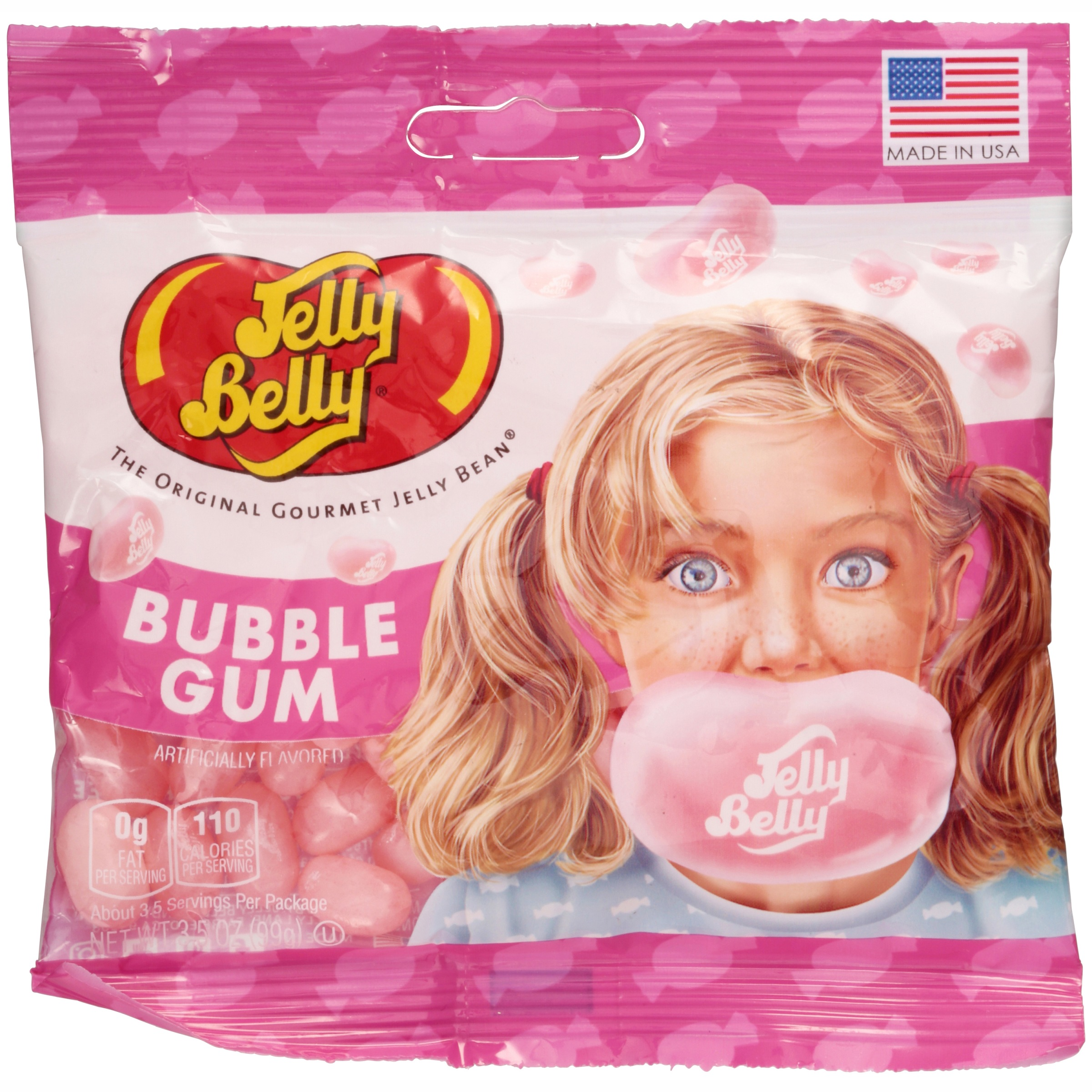 Jelly Belly, Bubble Gum Jelly Beans, 3.5 Oz