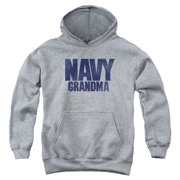 US Navy Grandma Big Boys Pullover Hoodie