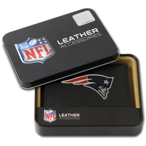 NFL - Men's New England Patriots Embroidered Trifold Wallet