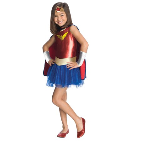 Wonder Woman Tutu Costume](Wonder Woman Little Girl Costume)