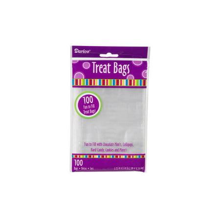Darice Clear Treat Bag 3.75x6