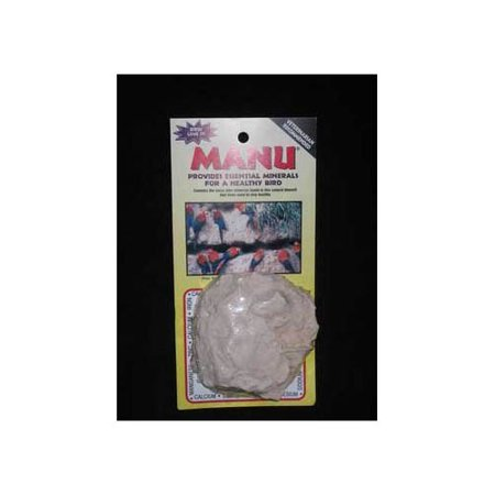Avian Specialties Manu Natural Essential Mineral Block for a Healthy Bird Multi-Colored