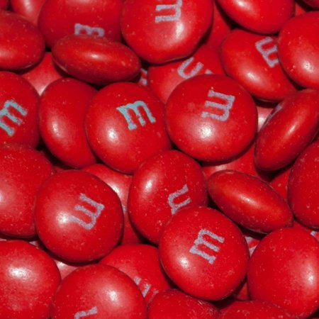 Red M&Ms Candy 2lb  - Milk Chocolate - Graduation, Birthday or Wedding Candy](Red M&m)