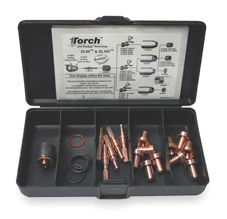 Plasma Torch Consumable Kit,40 Amps VICTOR THERMAL DYNAMICS 5-2551
