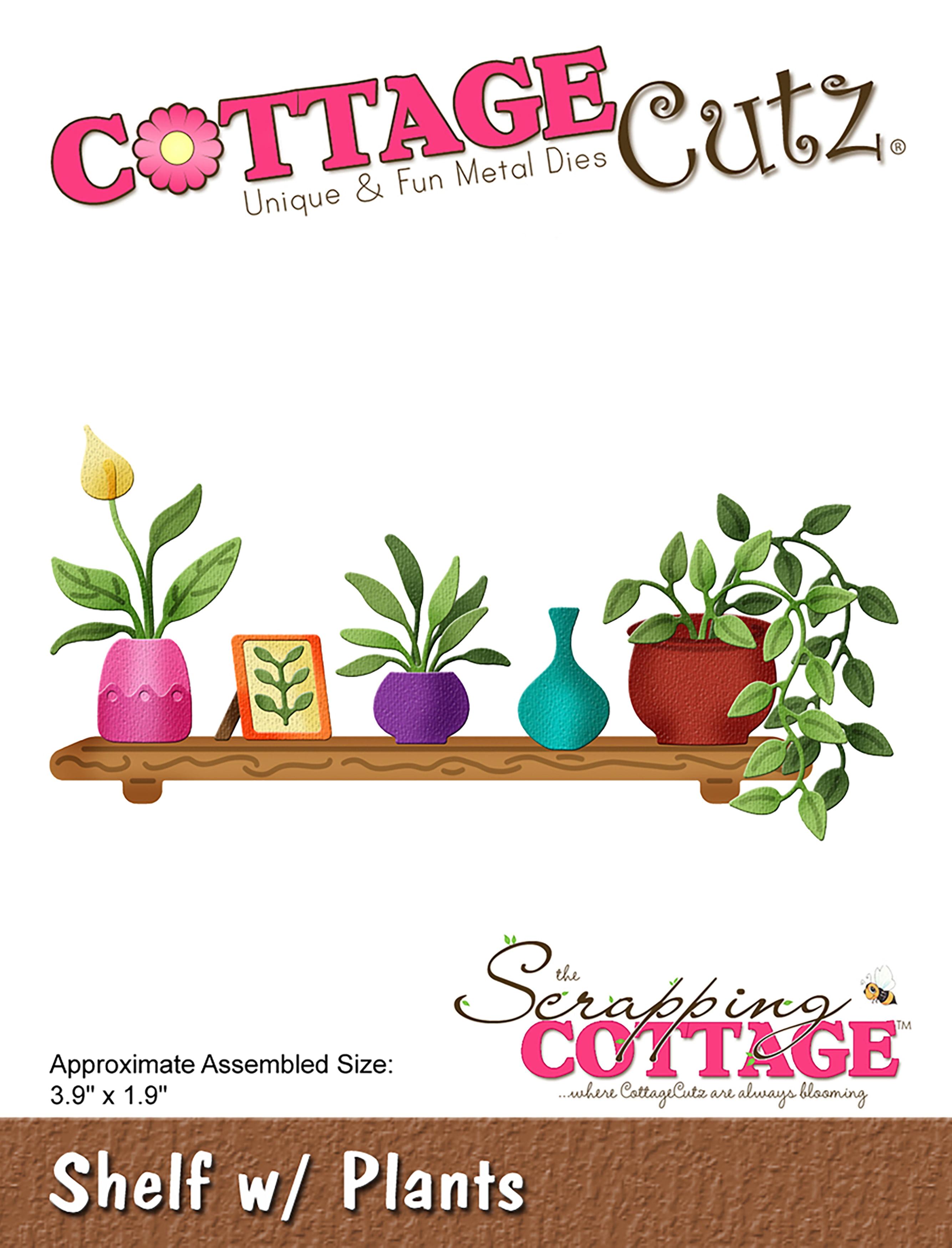 Afbeeldingsresultaat voor Cottage cutz shelf with plants